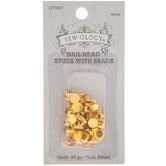Nail Head Studs With Brads - 6mm