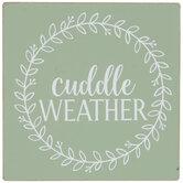 Cuddle Weather Wood Decor