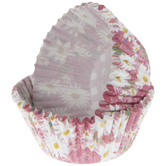 Pink Floral Hello Baby Baking Cups
