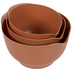 Brown Speckled Mixing Bowls