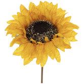 Yellow Sunflower Pick