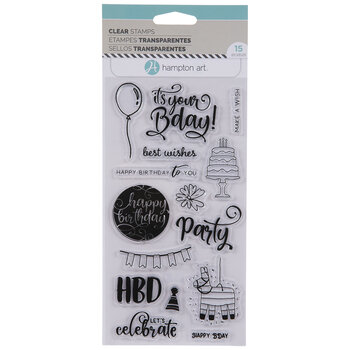 Happy Birthday Clear Stamps
