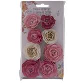 Pink Roses Prima Flower Embellishments