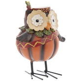 Owl With Red Headdress