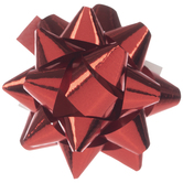 Red Mini Bows - 1""
