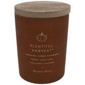 Plentiful Harvest Wood Wick Jar Candle