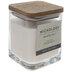 Ebony & Musk Wood Wick Jar Candle