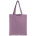 Purple Canvas Tote Bag