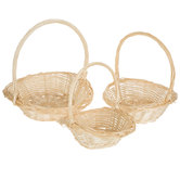 Willow Basket Set With Handles
