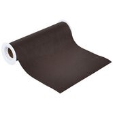 """Dark Brown Faux Leather Wide Ribbon - 7 1/2"""""""