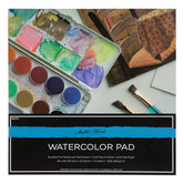 "Master's Touch Watercolor Paper Pad - 8"" x 8"""
