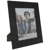 """Black Distressed Wood Look Frame - 8"""" x 10"""""""