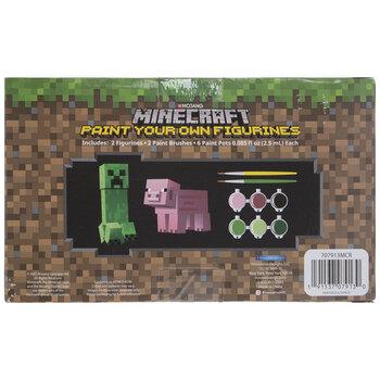Creeper & Pig Minecraft Painting Craft Kit