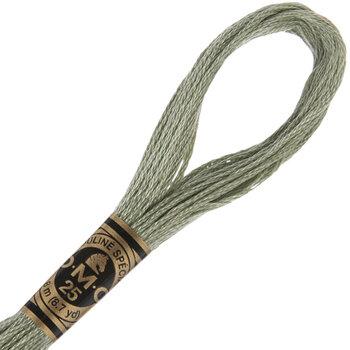 523 Light Fern Green DMC Cotton Embroidery Floss
