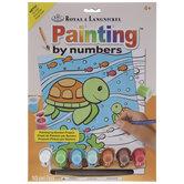 Sea Turtles Paint By Number Kit