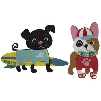 Beach Puppies Foam Craft Kit
