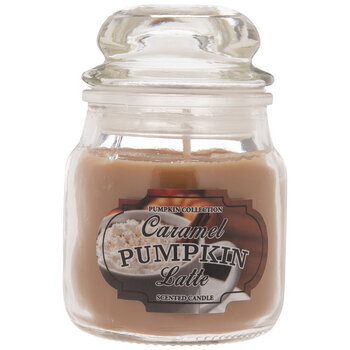 Caramel Pumpkin Latte Jar Candle