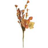 Orange Flower Buds & Berries Pick