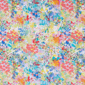 Multi-Color Paint Splatter Apparel Fabric