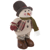 Snowman With Adjustable Legs
