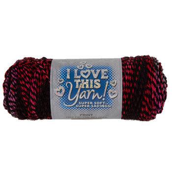Strawberry Jam Print I Love This Yarn