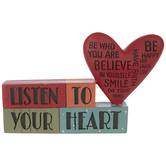 Listen To Your Heart Decor