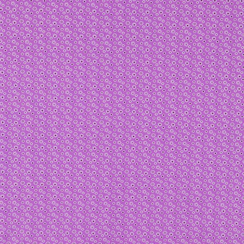 Purple Tiny Floral Fabric