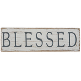 Blessed Wood Decor