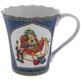 Present Filled Sleigh Mug