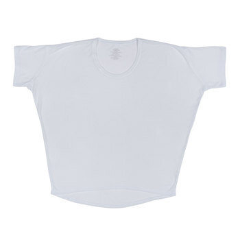 White Dolman Adult T-Shirt - Extra Small