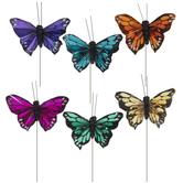 Assorted Feather Butterflies