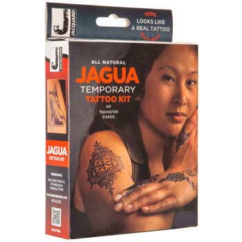 Black Jagua Temporary Tattoo Kit
