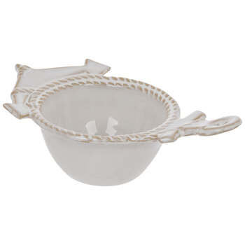 Cream Anchor Bowl - Large