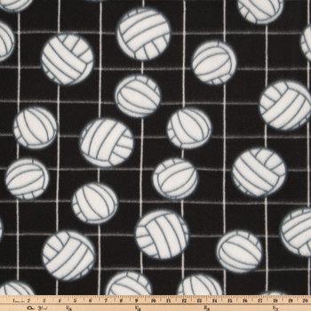 Volleyballs Fleece Fabric