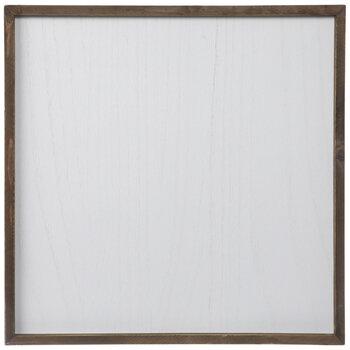 "Brown Whitewash Blank Wood Wall Decor - 20"" x 20"""