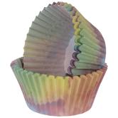 Watercolor Baking Cups