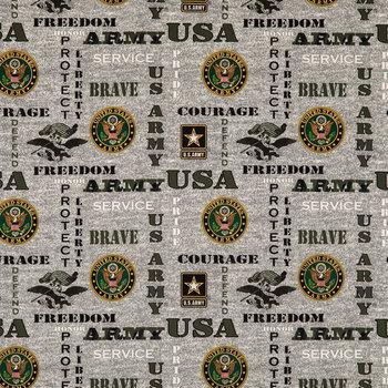Army Cotton Calico Fabric