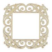 "Square Wood Frame - 2 3/8"" x 2 3/8"""