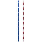 Stars & Stripes Paper Straws