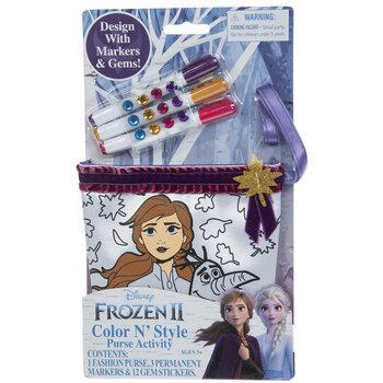Frozen 2 Color N' Style Purse Kit