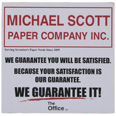 The Office Michael Scott Paper Company Wood Decor