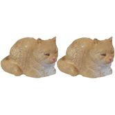 Miniature Lying Cats