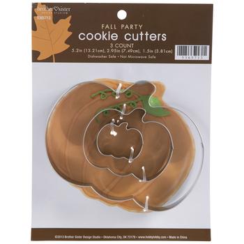 Pumpkins Metal Cookie Cutters