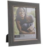 "Gray Fillet Wood Look Frame - 8"" x 10"""