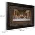 Last Supper Framed Wall Decor