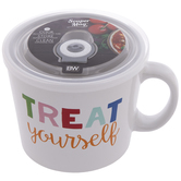 Treat Yourself Soup Mug
