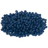 Opaque Dark Blue Czech Glass Seed Beads - 11/0