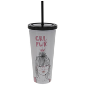 GRL PWR Cup With Straw
