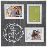 Picture Story Collage Wood Wall Frame