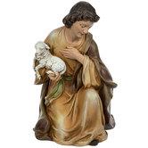 Shepherd Nativity Statue